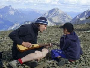 Cours de musique au sommet