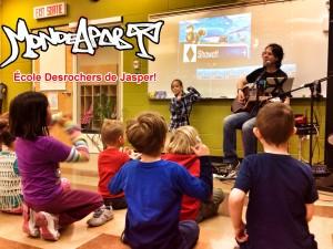 École Desrochers, Jasper