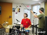 Phil - enregistrement de la batterie